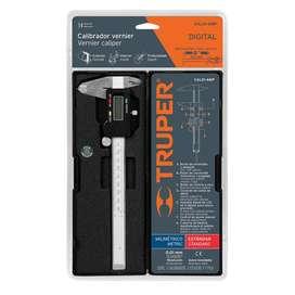 Calibrador Vernier Digital Truper 6 Pulgadas Milimetrico