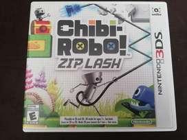 Juego 3ds Chibi Robo