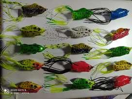 Señuelos de pesca ranas
