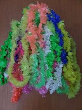 COTILLON- Collares Hawaiano x 10 de colores para carnaval carioca!!!