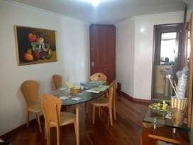 Arriendo Apartamento en zona exclusiva en Bogotá