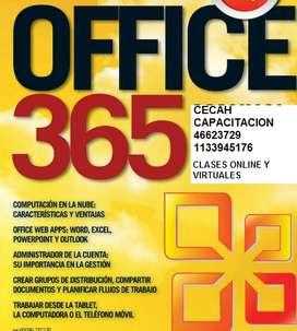 CLASES DE OFFICE 365 EN PALERMO