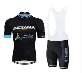 Jersey Uniforme De Ciclismo Astana Para Hombre
