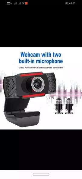 Cámara Web Full HD 1080P con micrófono incorporado