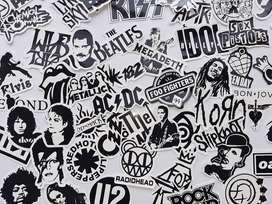 Calcomanias- Stickers Leyendas del Rock