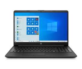 "Computador Portatil HP 15,6"" Pulgadas 15-gw0024la AMD Ryzen 5- 4 GB RAM- Disco Estado Sólido 256 GB-Negro"