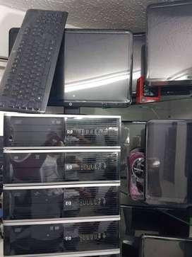 computador Core i3 3.30ghz corporativo completo con 4gb de ram 500gb de disco duro monitor lcd garantía con factura