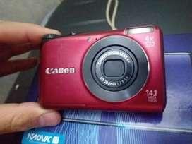 Vendo cámara canon  pero sin bacteria