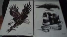Tatuaje Temporal Brazo Antebrazo Pecho Espalda PIERNA MODELOS JMG