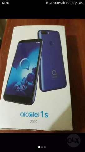 Se vende celular nuevo alcatel 1s 2019