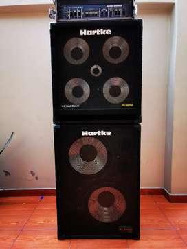 Amplificador de bajo hartke ha 7000 full stack