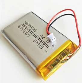 Bateria Litio 3.7v 900mah Repuesto Dron 1.25mm Gps Bluetooth