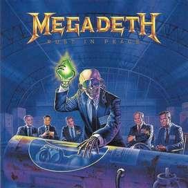 Megadeth cd rust in peace remastered nuevo sellado de fabrica importado e.u.