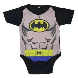 Mamelucos superhéroes para bebes