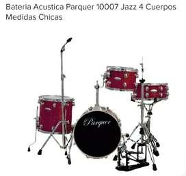 Vendo batería Parquer jazz