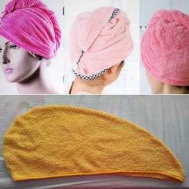Gorro toalla para el cabello