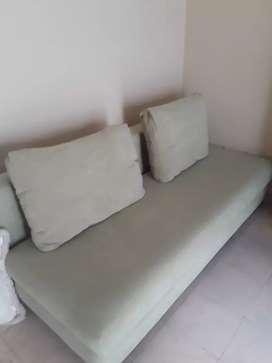 Sofa Cama Colineal verde