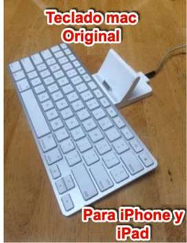 teclado mac apple original para ipad y iphone