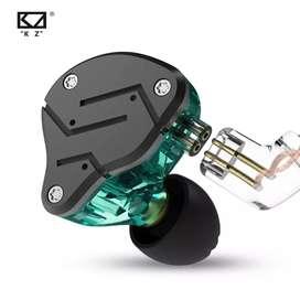 Audífonos In-Ears KZ ZSN 2da Generación monitores retorno Profesionales