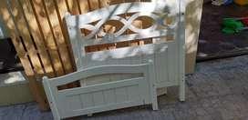 Cama 1 plaza madera MDF