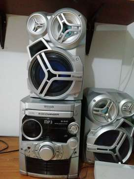 Mp3 Panasonic scd changer