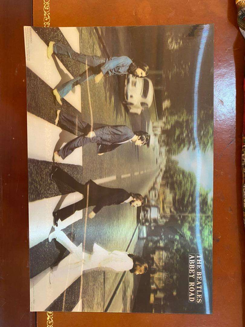 Beatles poster 3d holograma 0