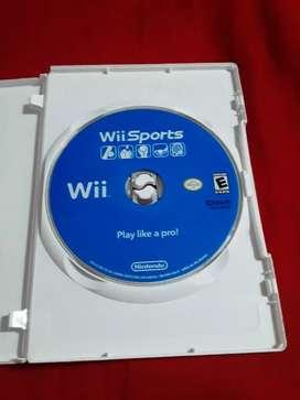 Vendo juego original de Wii Sports  a solo diez dólares Soy de Guayaquil y hago envíos