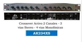 CROSSOVER ACTIVO 2 CANALES