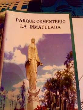 LOTE DOBLE PARQUE CEMENTERIO INMACULADA