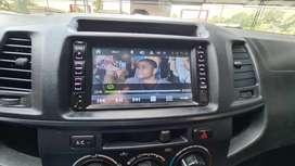 Radio Toyota Hilux DVD vendo cambio 2020