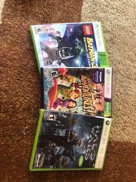Halo Wars, Kinect Adventures, Lego Batman3 Originales