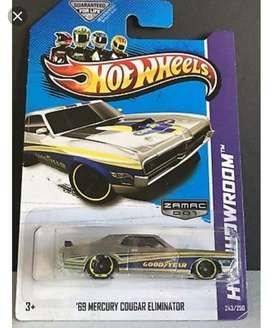 Hot Wheels 69 Mercury Cougar Eleminator