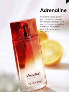 perfume Adrenaline de Yanbal Original 75 ML