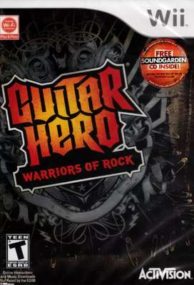 Juego nintendo guitar hero