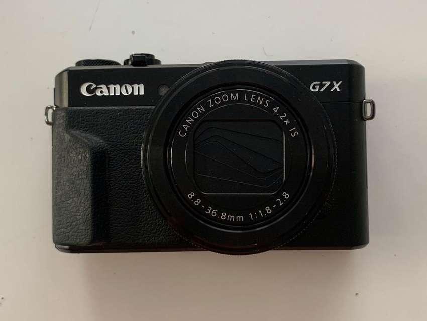 Camara Cannon G7X Mark II 0