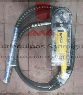 Vibrador para concreto tipo pulidora o motor original