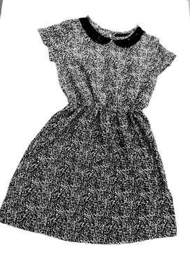 Vestido de Seda Marca Zara