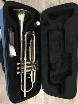 Trompeta jinbao plateada