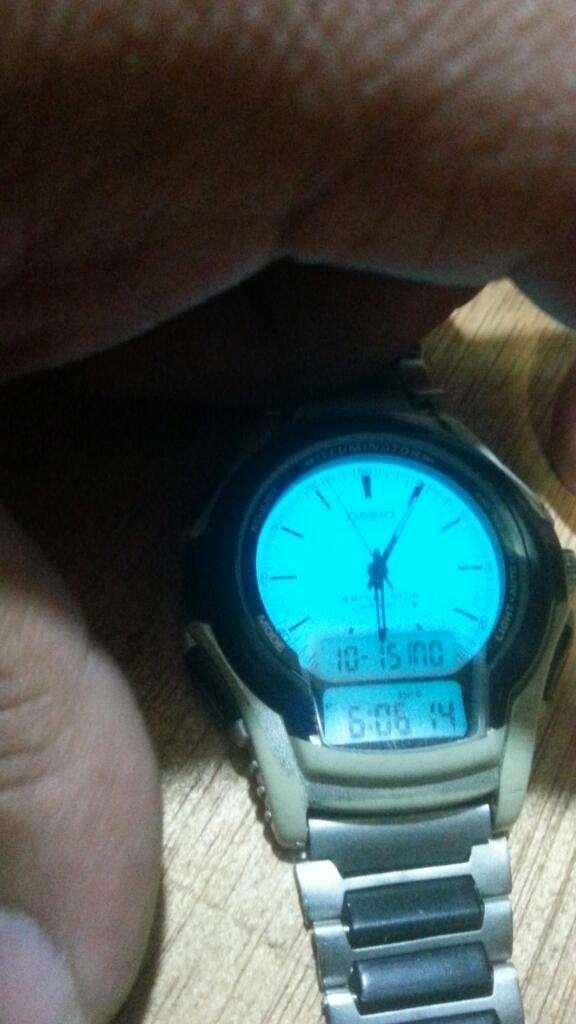 Reloj Casio Ws300 Auto iluminación Led clásico..