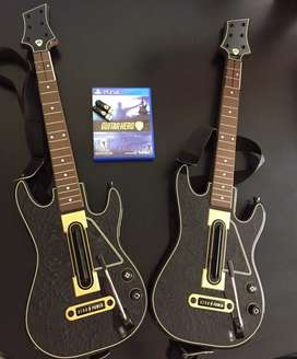 Guitar hero para Play Station 4