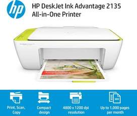 Impresora Hp 2135 Multifuncional A Color Ink Advantage