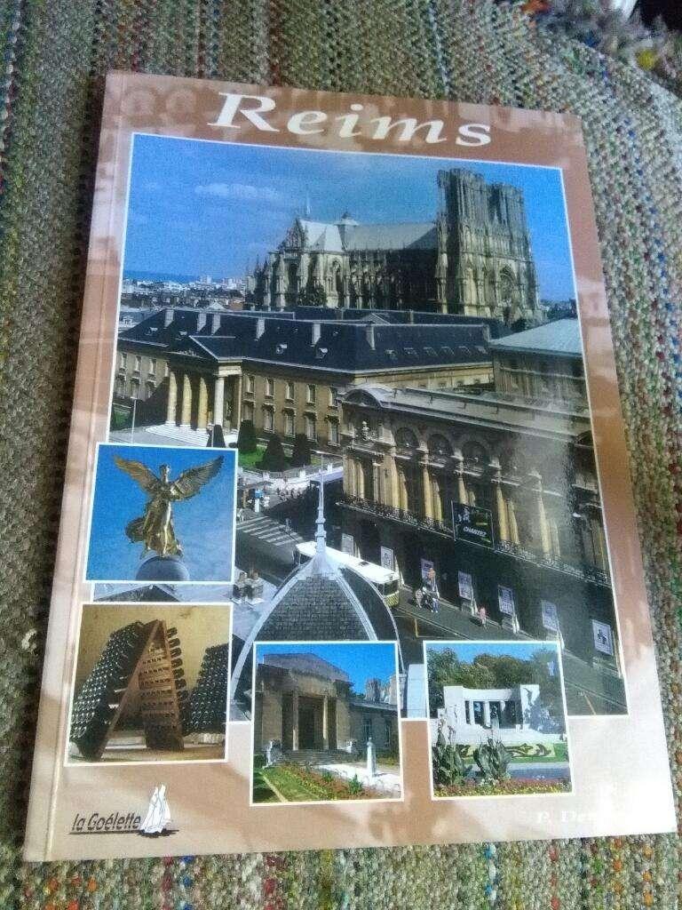 Reims . Guia de Viaje . en Español . Libro turismo P. Demony Francia 0