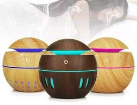 Humidificador redondo bolita color jarron difusor de aromas esencias olores aromaterapia humificador ambientador