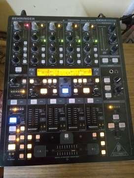 consola behringer ddm4000 dj mixer