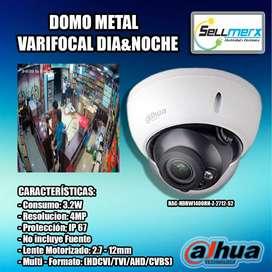 Camara De Seguridad Verifocal Hac-hdbw1400rn-z-2712-s2