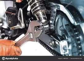 Reparación motos
