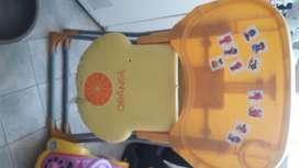 LIQUIDO!!! Silla plegable de comer para niños 700 pesos!!!