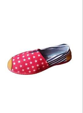 zapatillas suela roja con estrellas pequeñas con envio gratuito