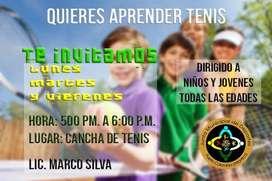 Clases de Tenis en Puerto Colombia