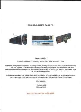 TECLADO TIPO GAMER